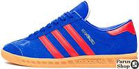 Мужские кроссовки Adidas Hamburg Blue/Red, адидас