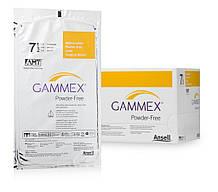 Антимикробные латексные хирургические перчатки без пудры стерильные GAMMEX® Powder-Free with AMT ™ (размер 5.5)