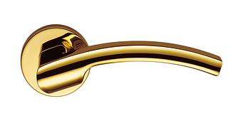Дверная ручка Colombo Design Olly LC61 полированная латунь