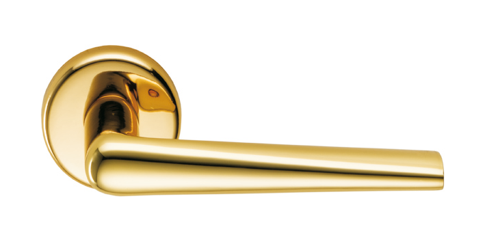 Дверная ручка Colombo Design Robotre CD91 полированная латунь