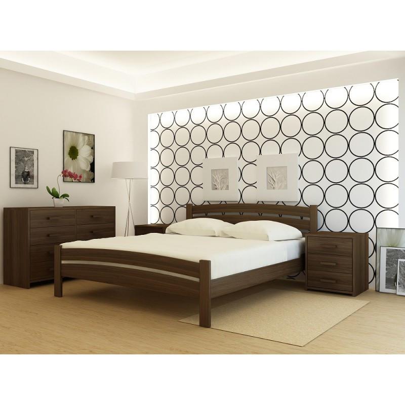 """Кровать деревянная TM """"YASON"""" Monaco (Массив Ольхи либо Ясеня)"""