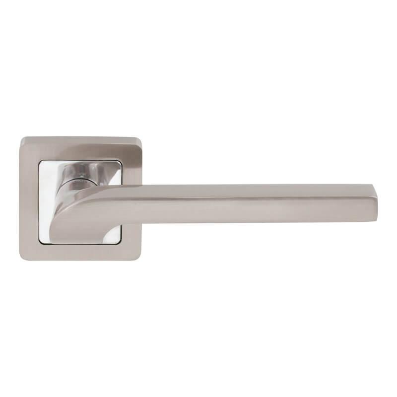 Дверная ручка Comit Flap никель матовый