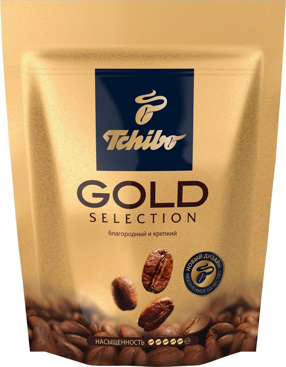 """Кава розчинна """" Tchibo Gold Selection 75 г пакет Німеччина"""