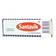 Пластырь Сантавик 19мм*72 мм №10