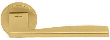 Дверная ручка Mandelli Link матовая латунь R