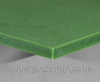 Полиэтилен  PE-500   лист  15  мм ( зеленый )