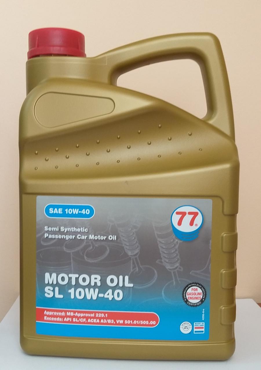 Motor Oil SL 10W-40 (кан. 4 л)
