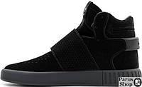 Мужские кроссовки Adidas Tubular Invader Strap Pirate Black