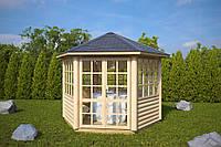 Домик садовода из профилированного бруса 3х3. Скидка на домокомплекты на 2020 год