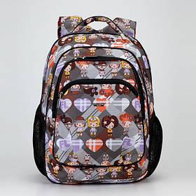 Рюкзак школьный ортопедический Dolly 530