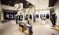 Торговое оборудование для обустройства магазина одежды