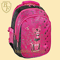 Рюкзак школьный Miqini 24л Розовый (M501)