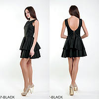Симпатичне лялькова сукня з вирізом на спині і спідницею воланами Evis
