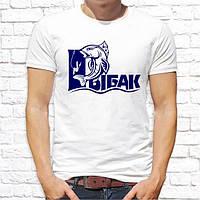 """Мужская футболка Push IT с принтом для рыбаков """"Рыбак"""""""