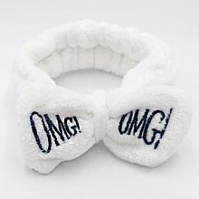 Повязка на голову Lux4ika OMG! White (n-245)
