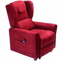 Подъемное кресло с двумя моторами, BERGERE (красное)