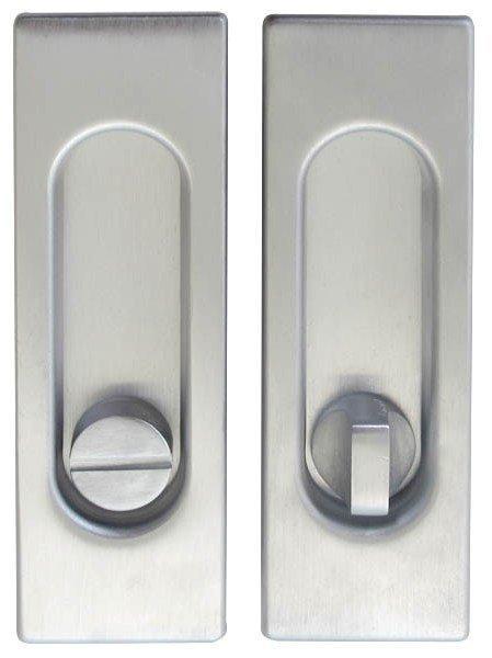 Ручка на раздвижные двери Fimet 3663AR F05 матовый хром