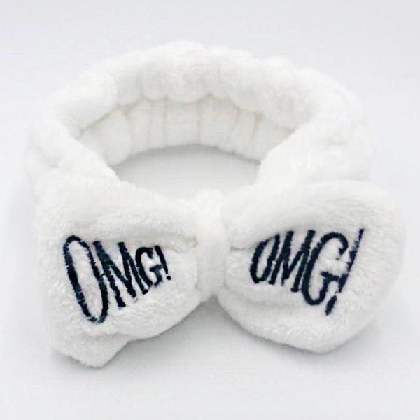 Повязка на голову Lux4ika OMG! White (vol-245)