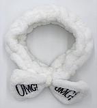 Повязка на голову Lux4ika OMG! White (vol-245), фото 2