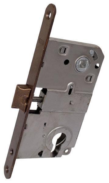 Защелка дверная AGB Mediana бронза