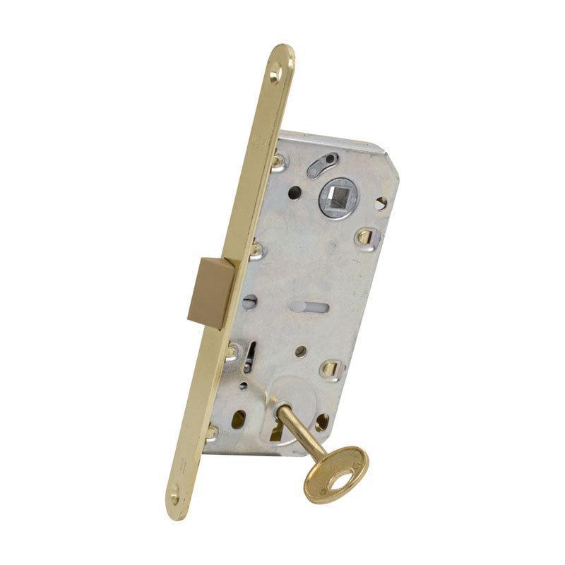 Защелка дверная AGB Mediana Evolution Patent латунь
