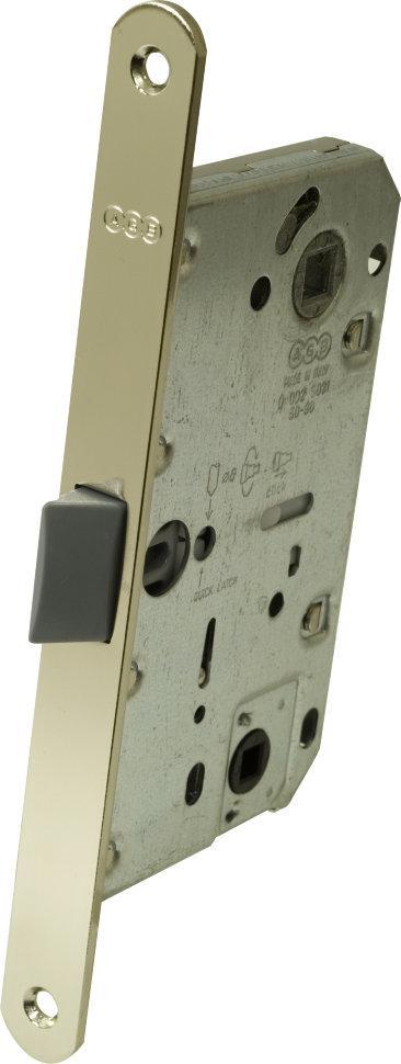 Защелка дверная AGB Mediana Evolution WC никель