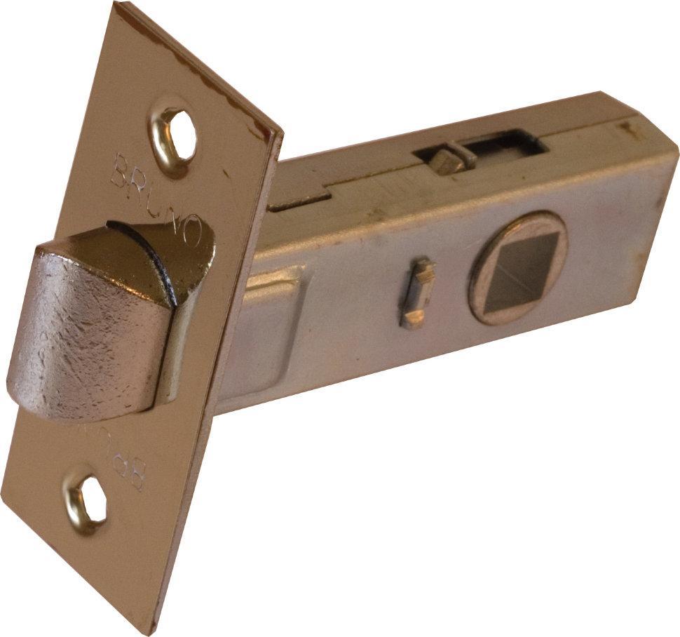Защелка дверная Bruno 245BP полированная латунь