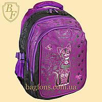 Рюкзак школьный Miqini 24л Фиолетовый (M501)