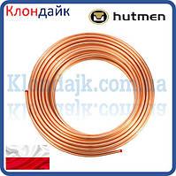 Труба медная мягкая Hutmen для кондиционеров 1/4' 6,35х0,76 мм