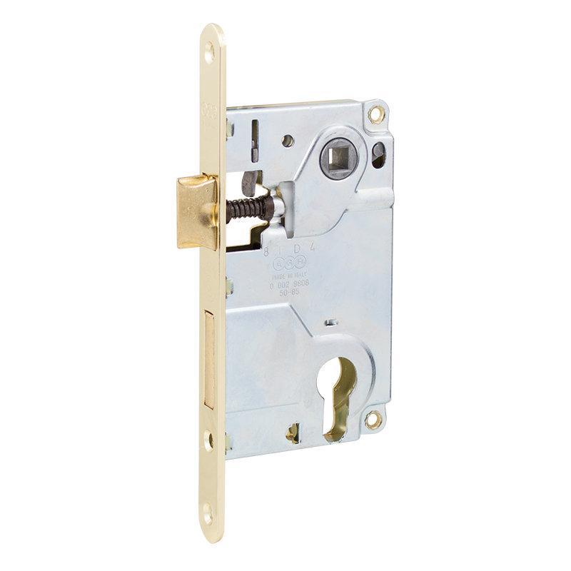 Механізм для міжкімнатних дверей AGB Centro B010255003 латунь 85 мм