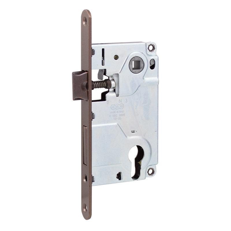 Механизм для межкомнатных дверей AGB Centro B010255022 античная бронза 85 мм