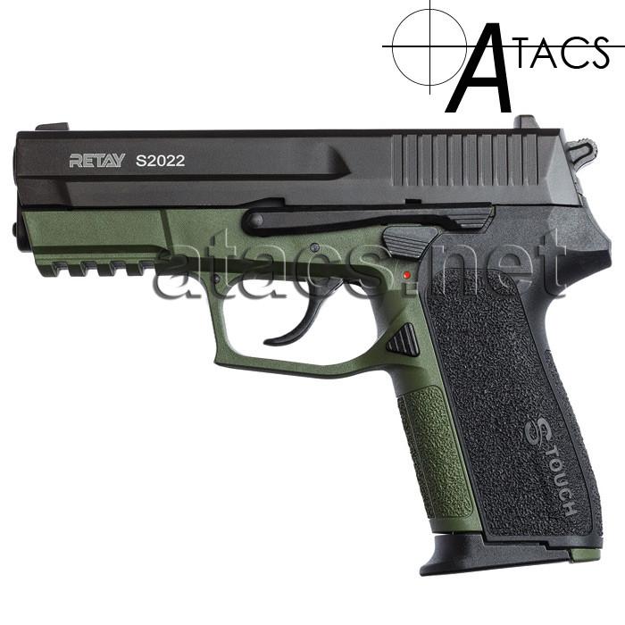 Пістолет стартовий Retay S2022 olive