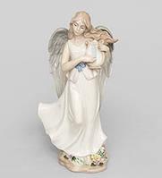 "Фарфоровая фигурка ангел ""Волшебная Лира"" (Pavone) JP-16/15"
