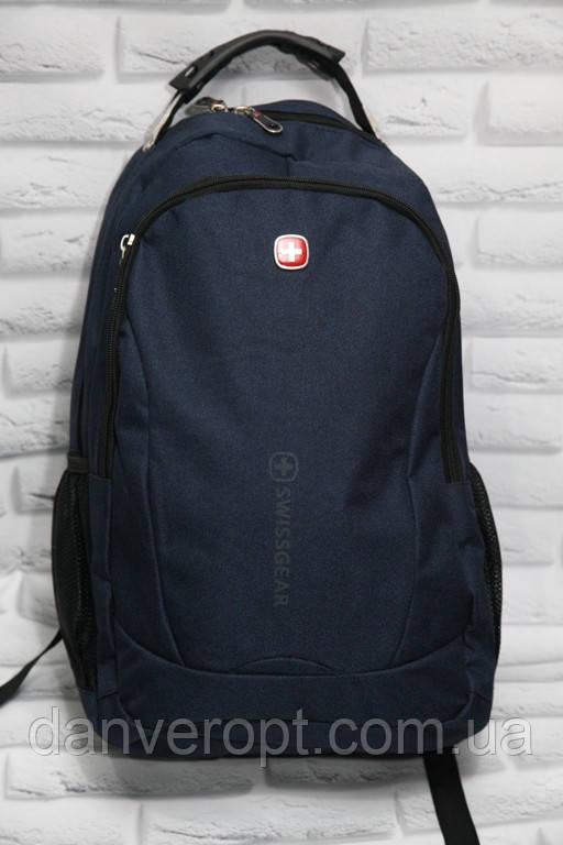 Рюкзак мужской стильный SWISSGEAR с USB портом размер 32x45 купить оптом со склада 7км Одесса