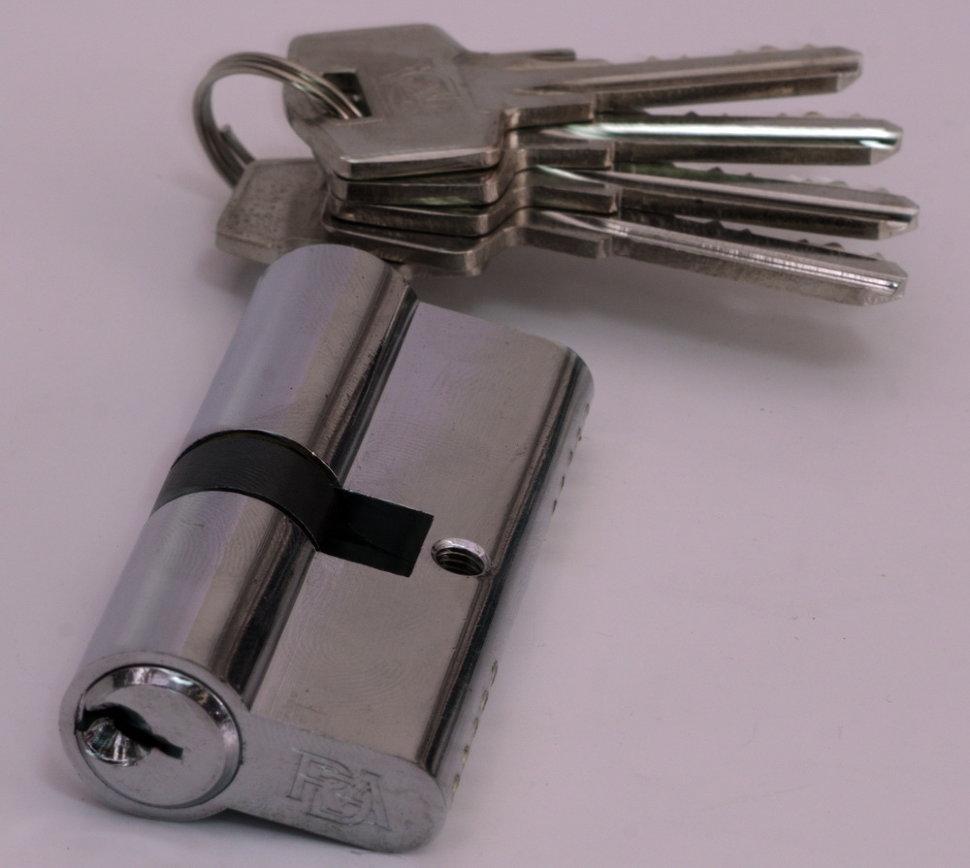 Циліндр замка англійська RDA 30/38 мм хром