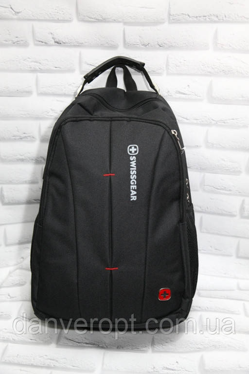 Рюкзак мужской модный SWISSGEAR с USB портом размер 32x45 купить оптом со склада 7км Одесса