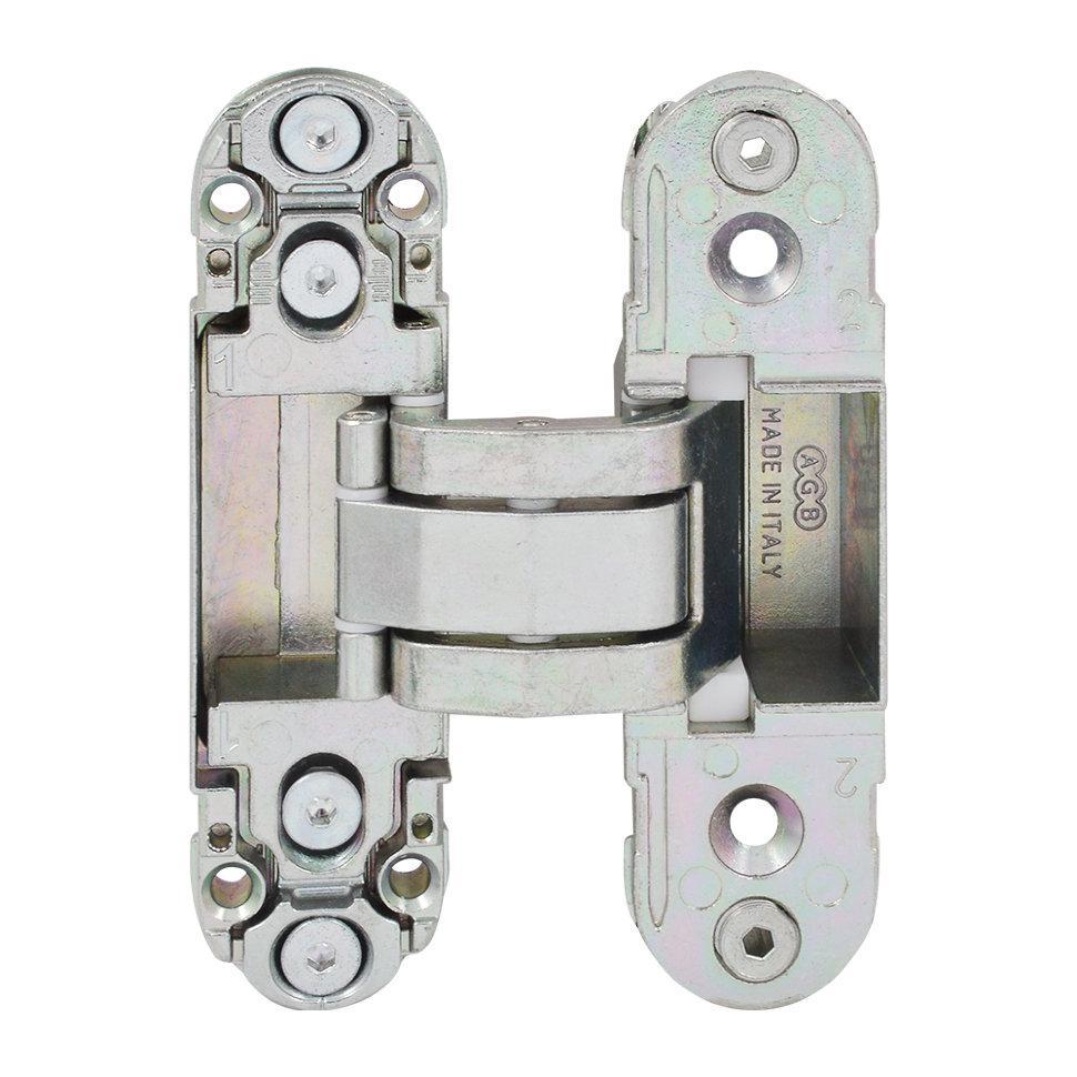 Петля для двери AGB E302000325 Eclipse 2.0 матовый никель