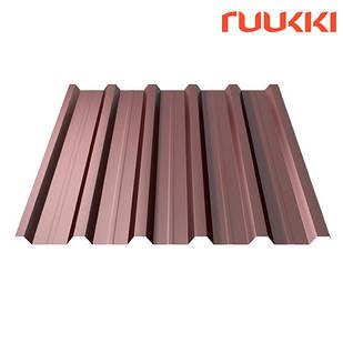 Металопрофіль Ruukki T35  Polyester rought matt 0.45мм