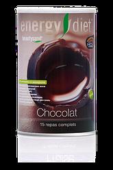 Коктейль Шоколад Энержди Дієт слім Energy Diet slim банку NL схуднення дієта без голоду замінник їжі Франція