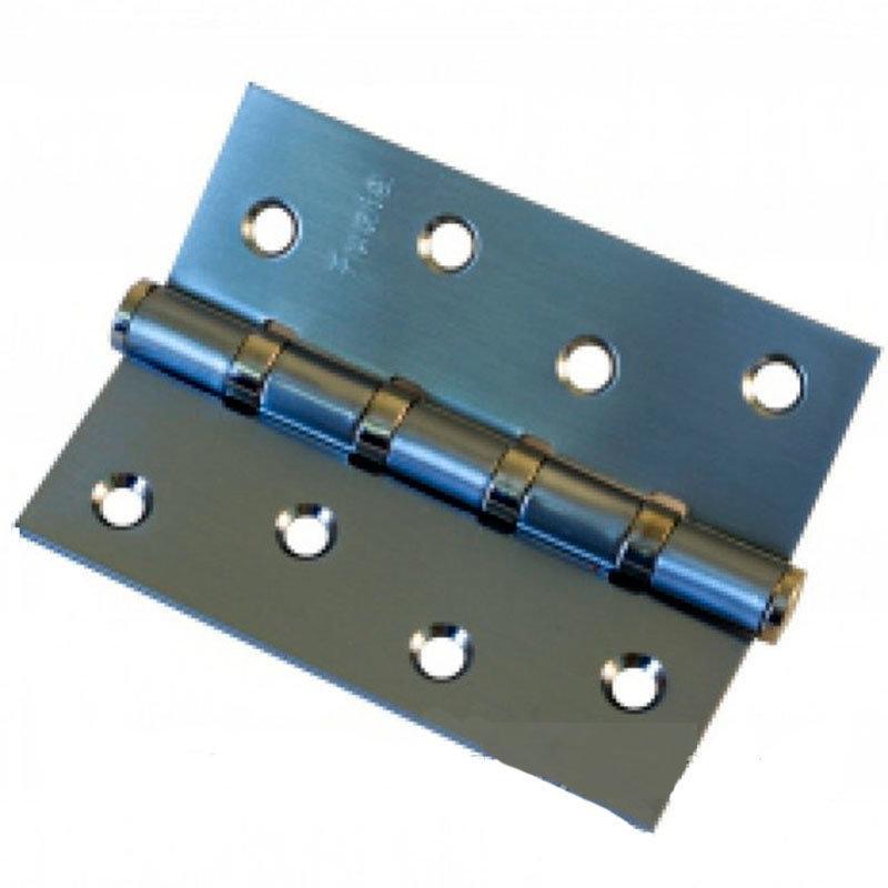 Петля для дверей Fuxia 100*2,5 матовий нікель