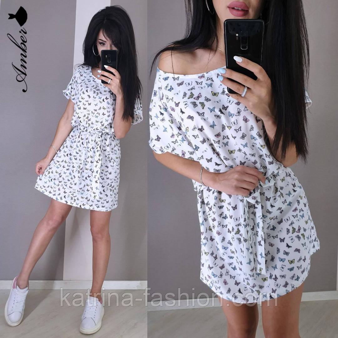 Женский летнее платье софт (в расцветках)