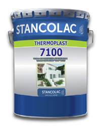 Термоизоляционная краска Thermoplast 7100  Stancolac 9 л.