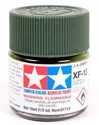 Краска Tamiya XF-13 Japan Army Green