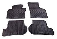 Резиновые ковры Stingray SKODA Octavia III 13-/VW Golf VII 13-/SEAT Leon 12-/Audi A3 12 - 4м.
