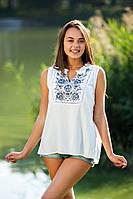 Блуза летняя из штапеля