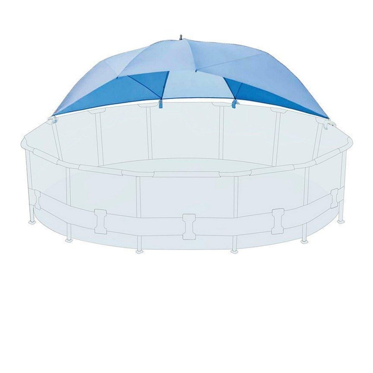 Тент-зонтик Intex, навес к бассейнам от 366 см до 549 см  (28050)