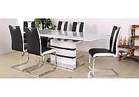 Стол обеденный Филадельфия DT-9108 Black + White