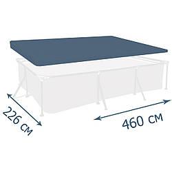 Тент - чехол для каркасного бассейна Intex, 460х226 см  (28039)