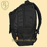 Рюкзак городской школьный Miqini 21л Чёрный (M222), фото 4