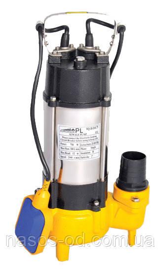 Насос фекальный Euroaqua WQ12-8.5-0.45 для выгребных ям 0.45кВт Hmax8.5м Qmax200л/мин